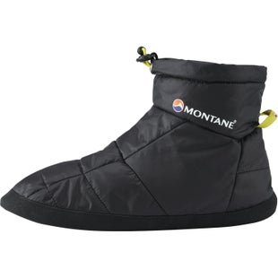 Montane Prism Bootie Slippers - Black