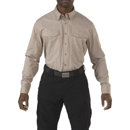 5.11 Tactical Stryke Long Sleeve Shirt - Khaki