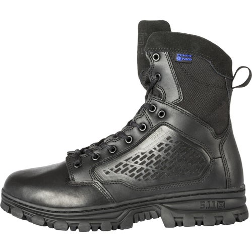 5.11 Tactical Evo 6 Waterproof Side Zip Boots - Black