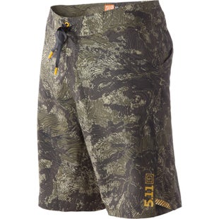 5.11 Tactical RECON Vandal Topo Shorts - Battle Brown