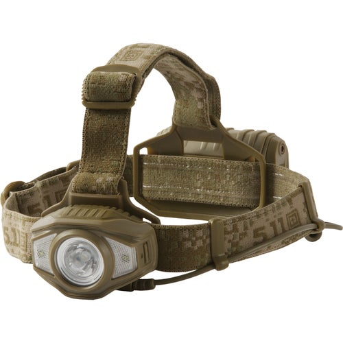 5.11 Tactical SAR H3 Head Torch - Sandstone