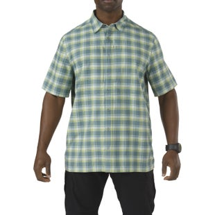 5.11 Tactical Covert Performance Short Sleeved Shirt - Agave
