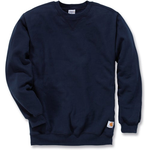 Carhartt Midweight Crewneck Sweater - New Navy
