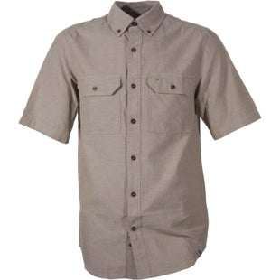Carhartt Fort Solid Short Sleeved Shirt - Dark Tan Chambray