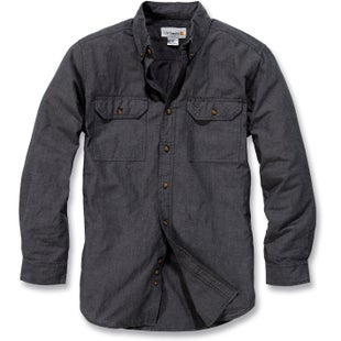 Carhartt Fort Solid Long Sleeve Shirt - Black Chambray