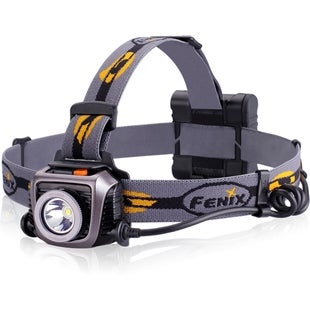 Fenix HP15 Ultimate Head Torch - Black Grey