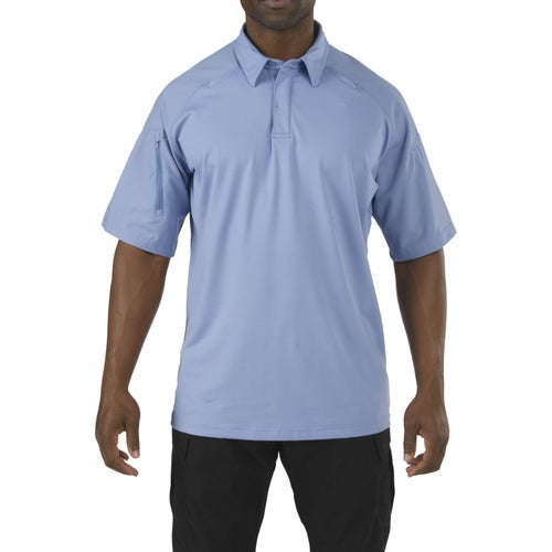 5.11 Tactical Rapid Performance Polo Shirt - Fire Med Blue