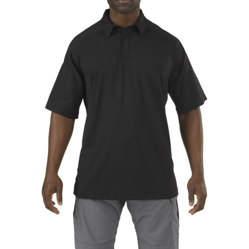 5.11 Tactical Rapid Performance Polo Shirt - Black