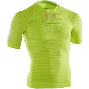 X-Bionic Effektor SS Power Base Layer - Lime Green