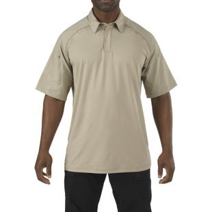 5.11 Tactical Rapid Performance Polo Shirt - Silver Tan