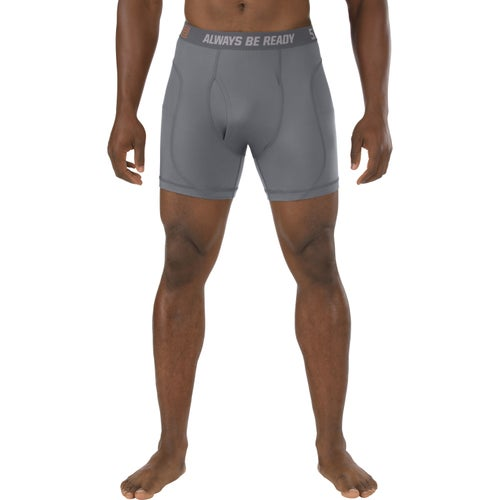 5.11 Tactical Performance 6 Inch Boxer Shorts - Storm