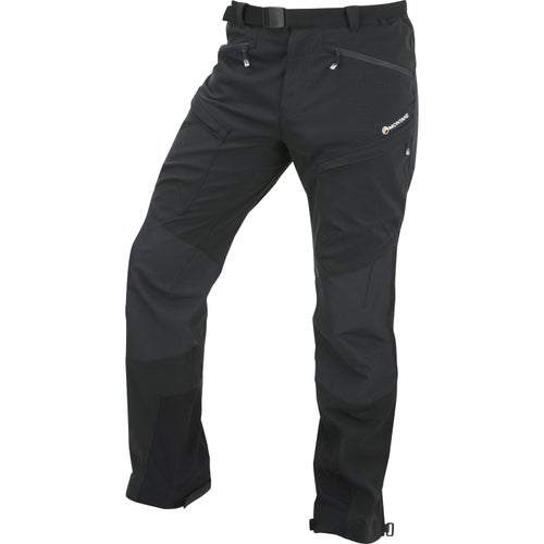 Montane Super Terra Reg Length Pants - Phantom Black