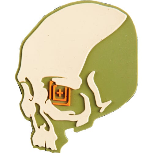 5.11 Tactical Skull Shot Patch - Sand