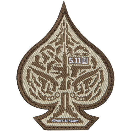 5.11 Tactical Spade Patch - Desert Sand