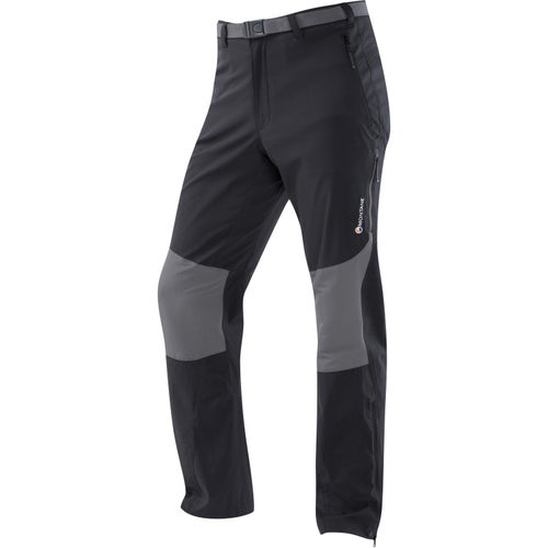Montane Terra Stretch Reg Length Pants - Black
