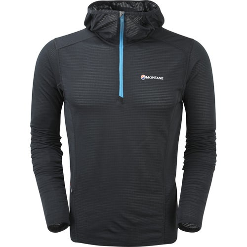 Montane Allez Micro Hoodie Base Layer - Black