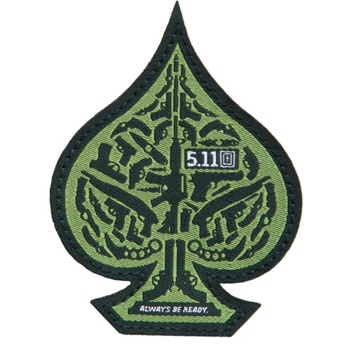 5.11 Tactical Spade Patch - Olive