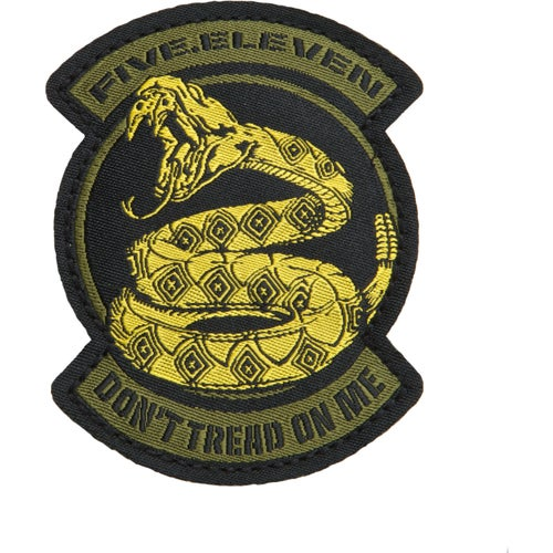 5.11 Tactical Dont Tread On Me Patch - Goldfinger