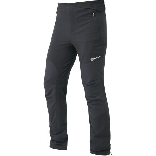 Montane Alpine Stretch Reg Length Pants - Black
