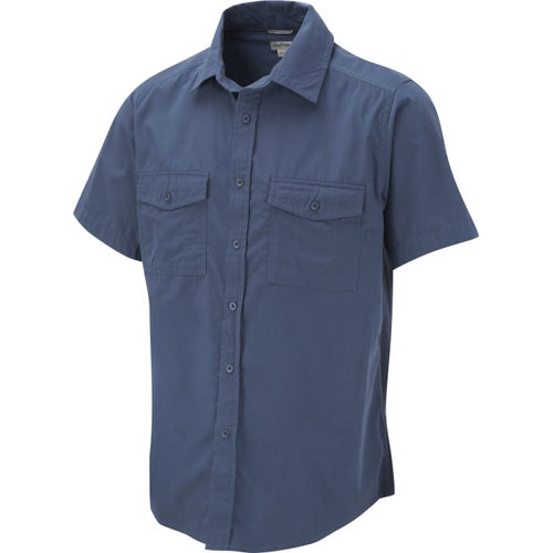 Craghoppers Kiwi Short Sleeved Shirt - Faded Indigo