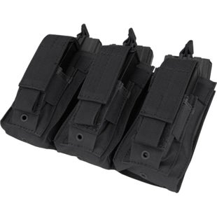 Condor Outdoor Triple Kangaroo M4 M16 Mag Pouch - Black