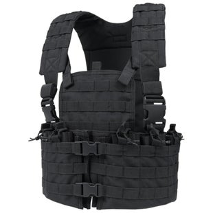 Condor Outdoor Modular Chest Set Vest - Black
