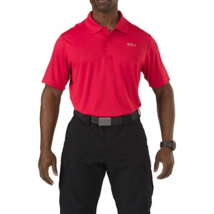 5.11 Tactical Pinnacle Polo Shirt - Range Red