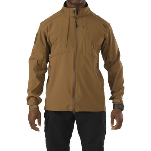 5.11 Tactical Sierra Softshell Jacket - Battle Brown