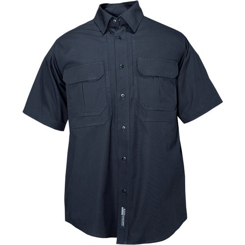 5.11 Tactical Cotton Short Sleeved Shirt - Navy