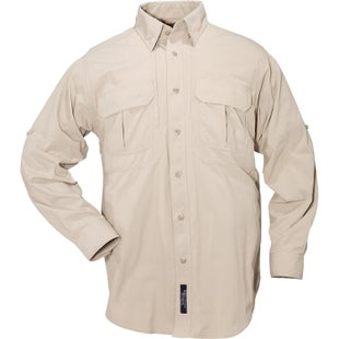 5.11 Tactical TDU Ripstop Sun Shirt Long Sleeve Shirt - Khaki
