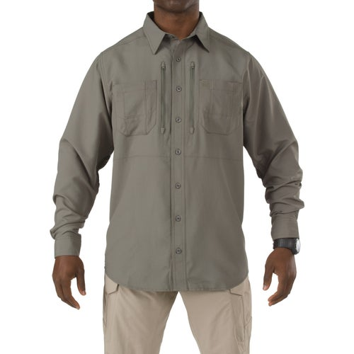5.11 Tactical Traverse Long Sleeve Shirt - Sage Green