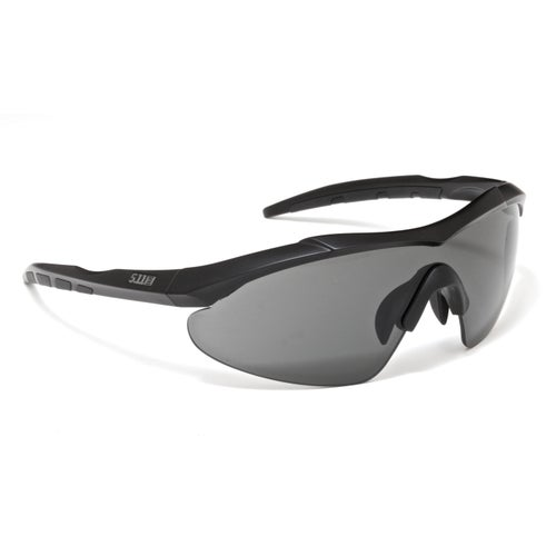 5.11 Tactical Aileron Shield 3 Lenses Sunglasses - Charcoal Frame
