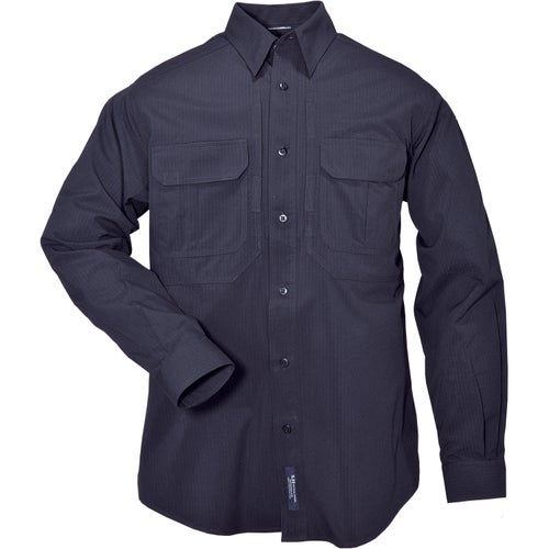 5.11 Tactical TDU Ripstop Sun Long Sleeve Shirt - Navy