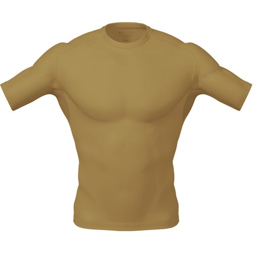 5.11 Tactical Tight Fit Crew Base Layer - Tan