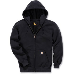 Carhartt Rain Defender Paxton Heavyweight Hooded Jacket - Black