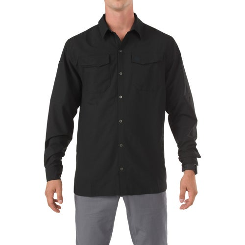 5.11 Tactical Freedom Flex Long Sleeve Shirt - Black