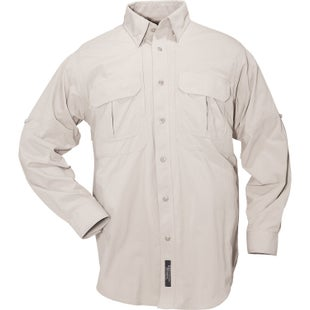 5.11 Tactical TDU Ripstop Sun Shirt Long Sleeve Shirt - Desert Sand
