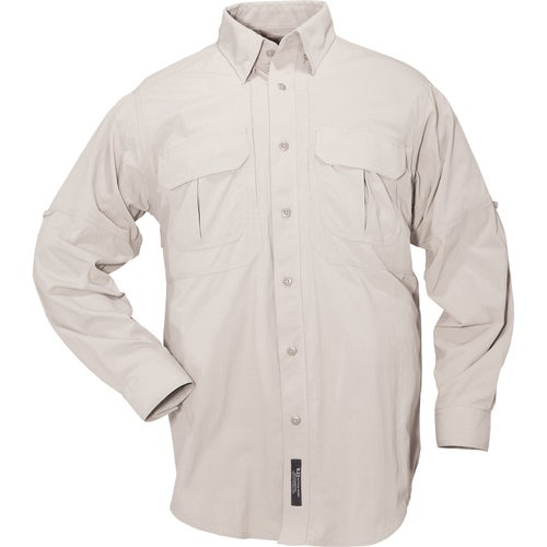 5.11 Tactical TDU Ripstop Sun Long Sleeve Shirt - Desert Sand