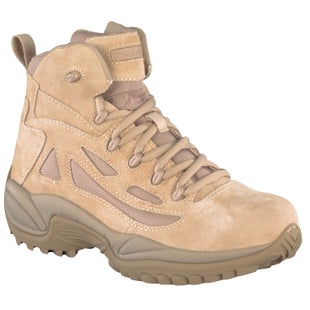 Reebok Military Rapid Response 6in Side Zip Boots - Tan