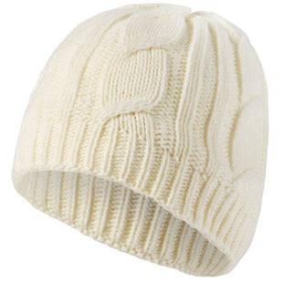 Sealskinz Waterproof Cable Knit Beanie - Cream