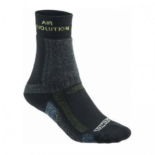 Meindl Revolution Hiking Outdoor Socks - Anthracite Yellow