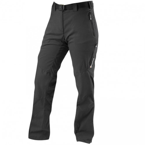 Montane Terra Ridge Short Leg Womens Pants - Black