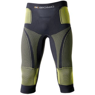 X-Bionic Accumulator Evo Baselayer Bottoms - Charcoal Yellow