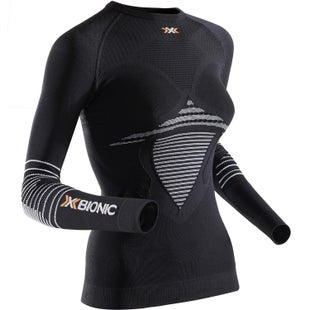 X-Bionic Energizer Mark 2 LS Womens Base Layer - Black White
