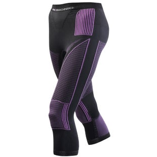 X-Bionic Accumulator Evo Medium Womens Baselayer Bottoms - Charcoal Fuschia