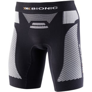 X-Bionic Marathon Running Base Layer Short - Black Pearl Grey