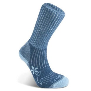 Bridgedale Merinofusion Trekker Womens Outdoor Socks - Blue