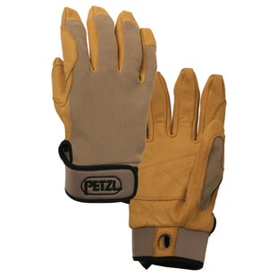 Petzl Cordex Gloves - Tan Leather