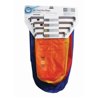 Exped 2017 Fold Dry 4 Pack Drybag - Ultralight Assorted