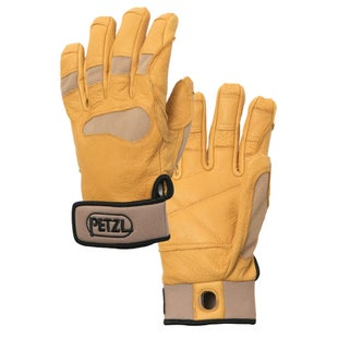 Petzl Cordex Plus Gloves - Tan Reinforced Leather